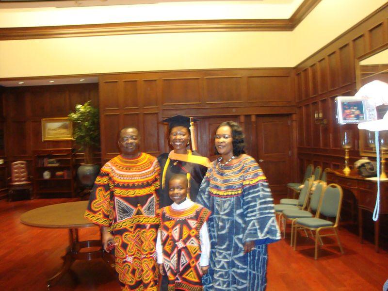 Edum and family