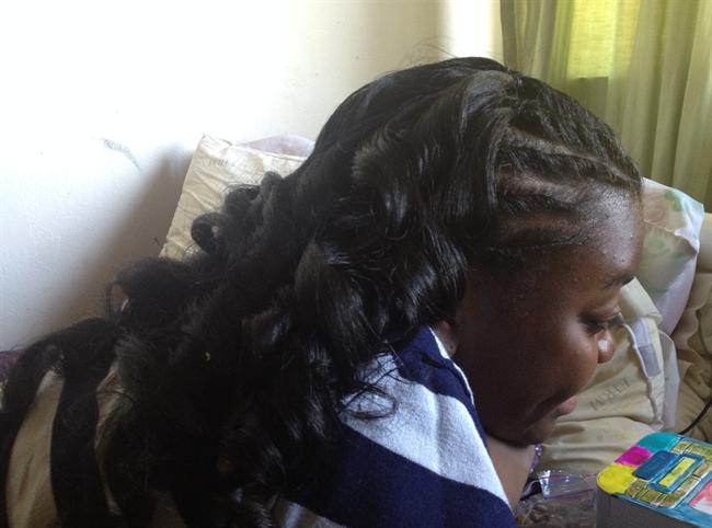 Nina hair 2